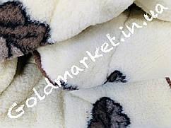 Меховое двухстороннее одеяло Евро размер 200*220см. 925грн