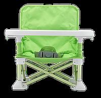 Складной тканевый стол для кормления baby seat