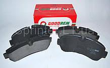 Колодки тормозные передние MB Sprinter 906 508-519CDI 06- (спарка) GOODREM RM1180