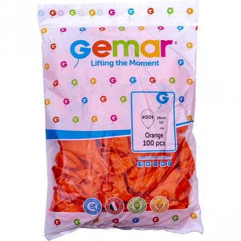 Шарики 10 пастель «Оранжевые» G90 /04 9041, фото 2