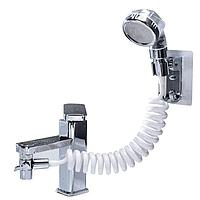 Душевая система на умывальник с турмалином modified faucet with external shower