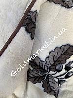 Зимнее тёплое одеяло на овчине// Меховое одеяло Евро размер 200*220см. Лери Макс 925грн