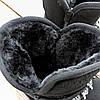 Натуральна замша уггі дитячі UGG чорні черевики чобітки уггі дитячі для дівчинки, фото 6