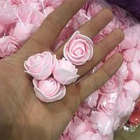 Розы розовые (500 шт)