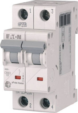 Автоматический выключатель Eaton HL-C16 / 2, фото 2