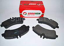 Колодки тормозные зад. MB Sprinter 509-519CDI/VW Crafter 50, 06- (спарка) GOODREM