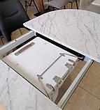 Стол TML-800 белый мрамор 150/200х90 (бесплатная доставка), фото 5