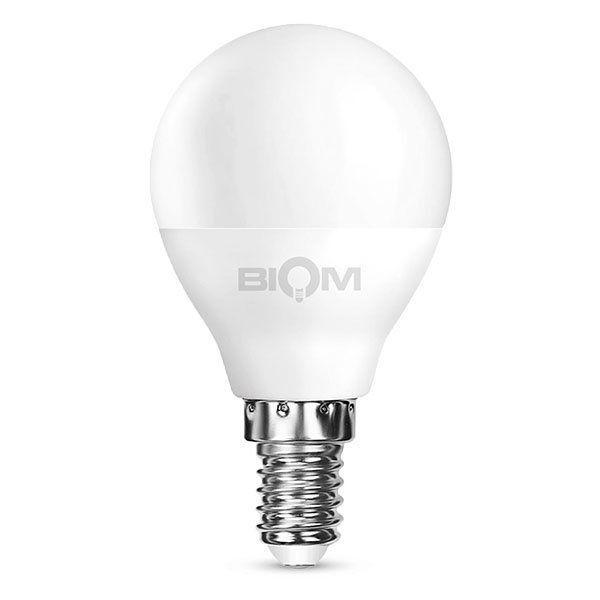 Светодиодная лампа Biom BT-545 теплый свет 3000К 4 Вт G45 цоколь E14