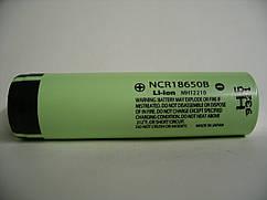 Аккумулятор Panasonic NCR18650B 3400mAh, Li-ion 1шт