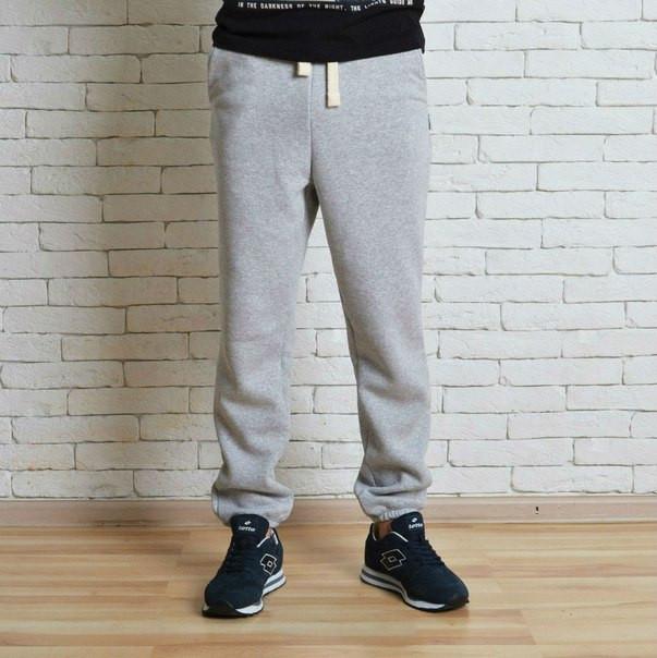 62ee27e0 Теплые спортивные штаны мужские Red and Dog Pou Grey -