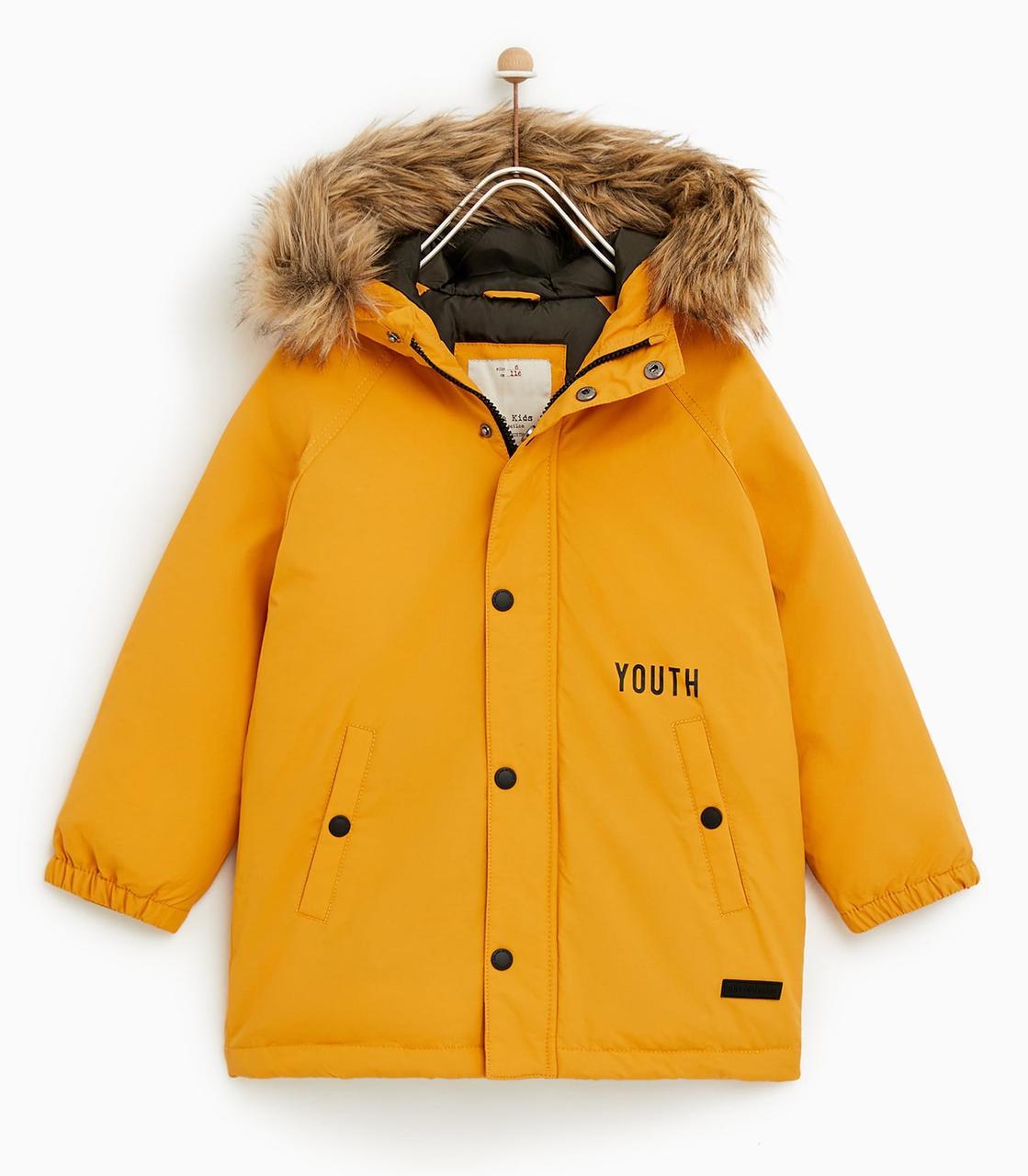 Детская зимняя куртка на мальчика Испания Размер 122