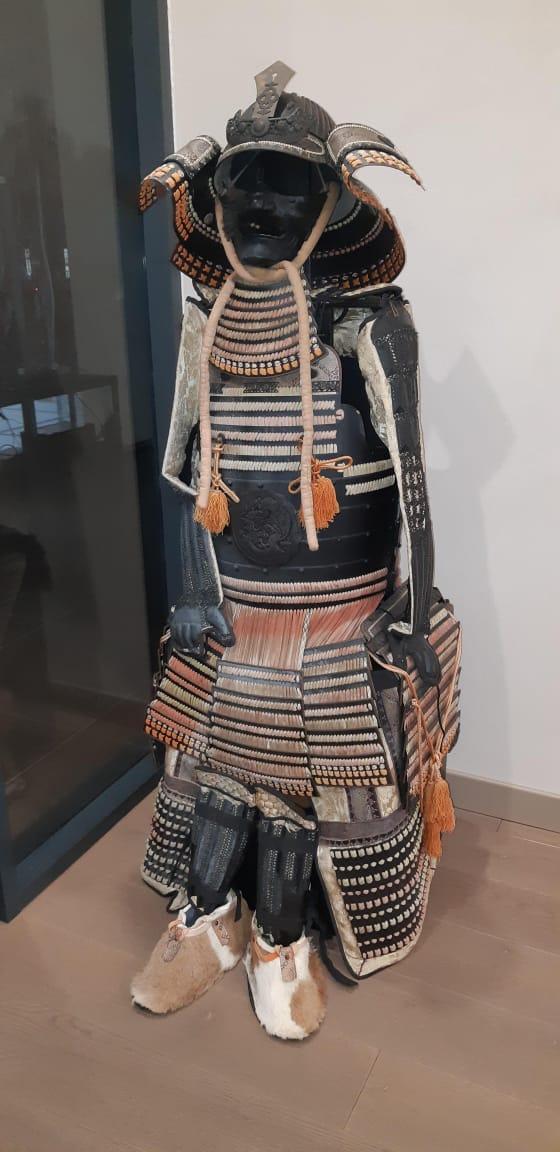 Доспехи самурая 19 век, оригинал, комплект 1