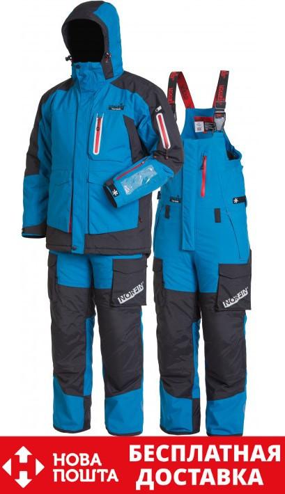 Зимовий костюм для риболовлі Norfin TORNADO (-30 °) 408005-XXL