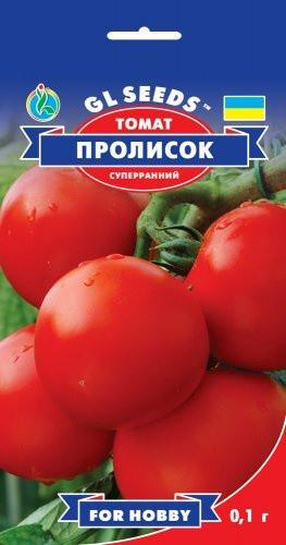 Насіння Томату Пролісок (0.1 г), For Hobby, TM GL Seeds