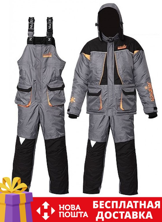Зимний костюм для рыбалки подростковый Norfin ARTIC Junior