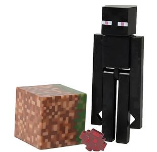 Фигурка Майнкрафт Эндермен с аксессуарами, 8 см - Enderman, Minecraft