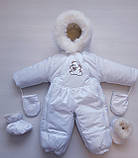 Детские комбинезоны зимние на овчине, фото 6