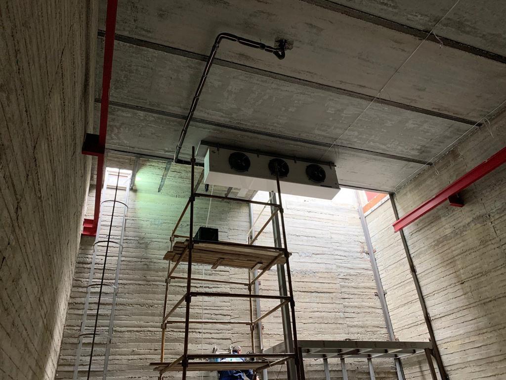 Холодильная камера для хранения овощей. г.Одесса