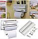 Кухонный диспенсер для бумажных полотенец, пищевой пленки и фольги triple paper dispenser, фото 3