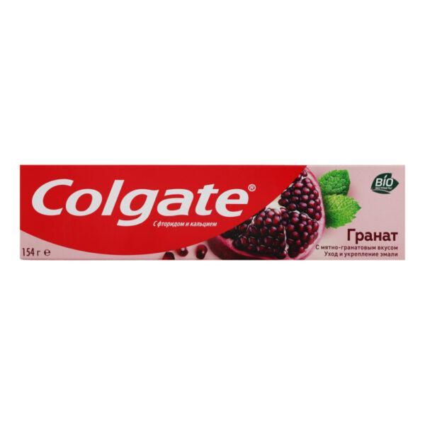 """Зубная паста Colgate """"Гранат"""" с мятно-гранатовым вкусом, 100 мл (154 г)"""