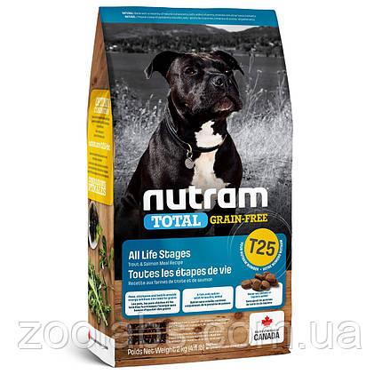 Корм Nutram для собак усіх порід з лососем | Nutram T25 Total Grain Free Salmon & Trout Dog Food 11,4 кг, фото 2