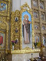 Киот вокруг несущей колонны в Церкви, фото 1