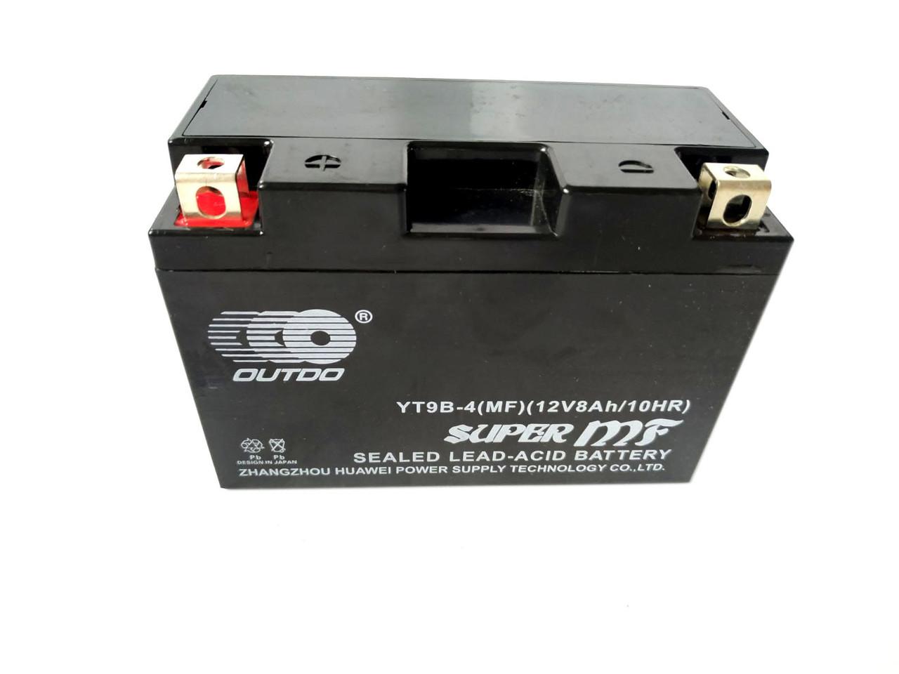 Аккумулятор 9A 12V (YT9B) гелевый 150x70x107 Japan Tech