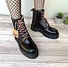 """Ботинки женские осенние кожаные Dr. Martens MOLLY """"Черные"""" размер 36-40"""