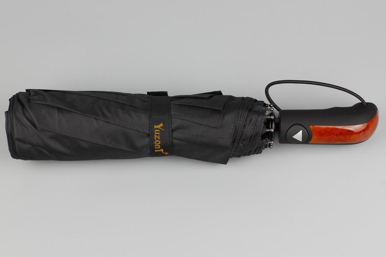 Зонт мужской унисекс полуавтомат прямая ручка Yuzont