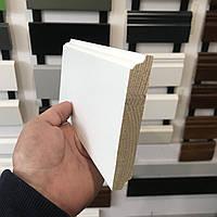 """Колониал"" 100х16 мм, Плинтус белый деревянный, фото 1"