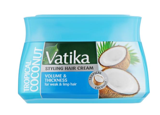 Крем для волос Dabur Vatika для придания объема 140мл