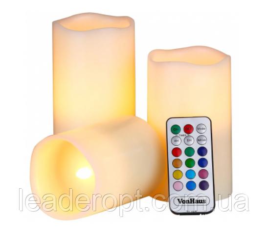 ОПТ ОПТ Світлодіодні свічки 2Life Luma Candles з пультом