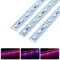 Фіто LED лінійка світлодіодна SMD 5730 72LED 12V IP20 ( 4красных + 1синий ), фото 1