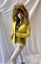 Укороченная зимняя женская куртка, норма