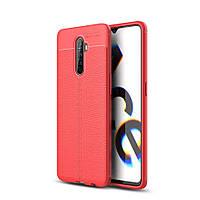 Чехол Fiji Focus для Realme X2 Pro силикон Original Soft Touch красный