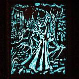 """Барельеф """"Девушка с лошадью"""" светящийся, фото 4"""