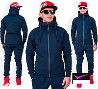 Утеплений спортивний костюм з капюшоном, з 46 по 52 розмір