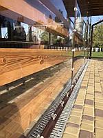 Мягкие окна ПВХ для беседок, для кафе, ПВХ шторы на поворотных люверсах