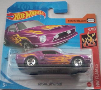Машинка Hot Wheels 2020 '68 Shelby GT500