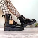 Женские зимние ботинки Dr. Martens Jadon Black (Мех), др мартенс, жіночі черевики Dr Martens, ботінки мартінс, фото 7