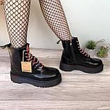 Женские зимние ботинки Dr. Martens Jadon Black (Мех), др мартенс, жіночі черевики Dr Martens, ботінки мартінс, фото 8