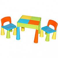 Столик и два стульчика Tega Mamut Multi разноцветный