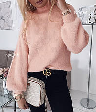Ангоровый свитер травка / арт.817, фото 3