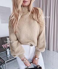 Ангоровый свитер травка / арт.817, фото 2