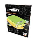 Кухонные весы электронные Mesko MS 3159o, фото 4