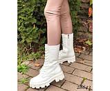 Ботинки высокие на шнуровке Nina mi, фото 6