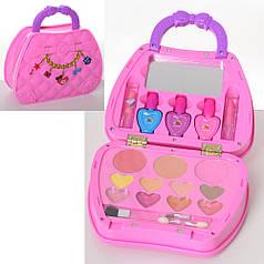 Набор детской декоративной косметики в сумочке розовая