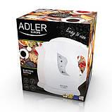 Электрочайник пластиковый Adler AD 08 b beije 1,0 литр, фото 5