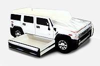 Дитяче ліжко машина Hummer H2 Спальне місце 150*70 см, фото 1