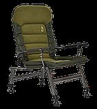 Кресло карповое рыбацкое Elektrostatyk FK6 усилинное, комфортное. Нагрузка 150кг/max, фото 4